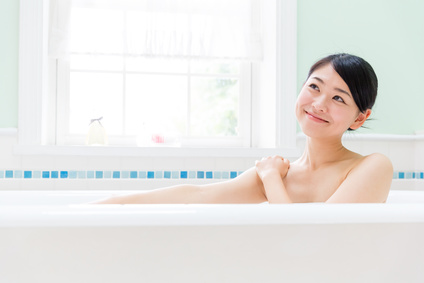 身体の心を温めるのに入浴は欠かせません